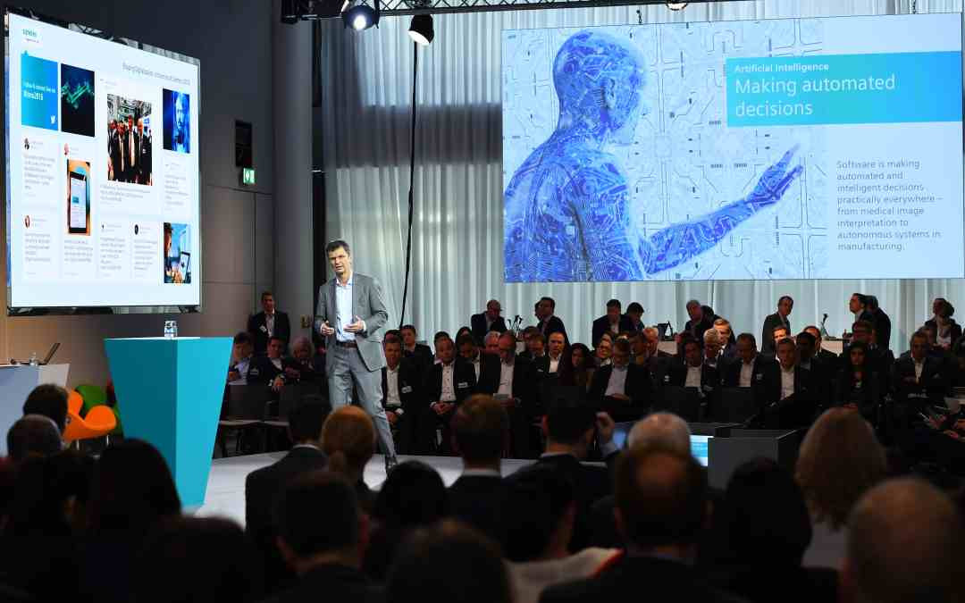 Siemens bets big on software, all across the AG
