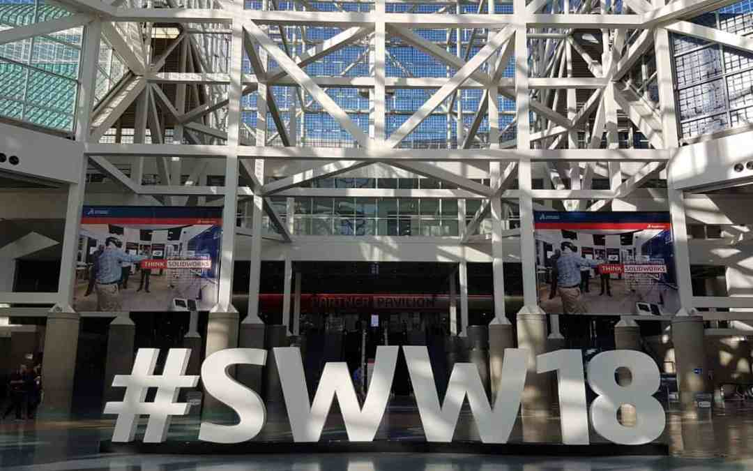 10 things I think I think: SOLIDWORKS World 2018