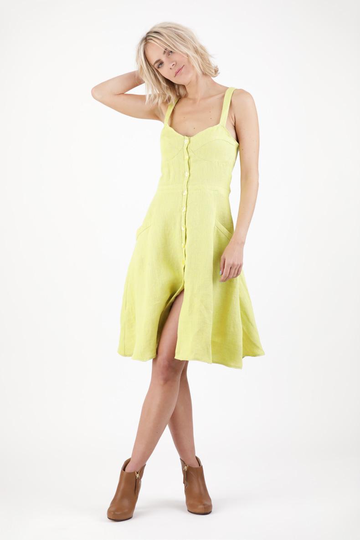 Schnittmuster Sommerkleid mit Trägern und Kopfleiste