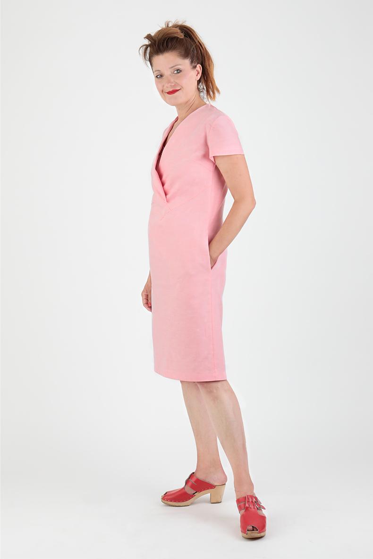 Schnittmuster Kleid Joy - mit Ärmeln von der Seite