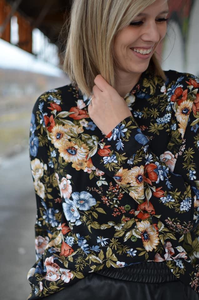 Schnittmuster Oversize Bluse Cocoon Schnittduett - Genäht von Zunzes Nähwelt