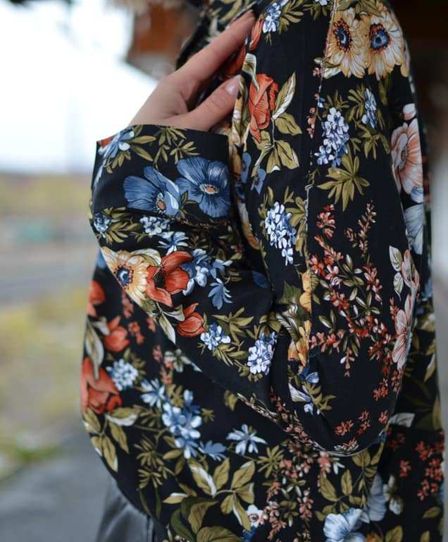 Schnittmuster Bluse Nähen Nähanleitung: Schnittmuster Oversize Bluse Cocoon Schnittduett - Genäht von Zunzes Nähwelt