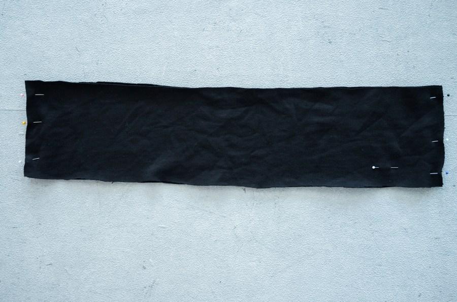 Bündchen annähen Sweater Wrapped Sewalong - Schnittduett