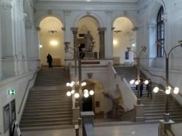 Inside the University of Vienna's main building