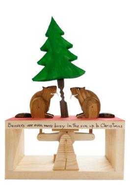 Neil Hardy: busy X-mas Beavers https://craft2eu.net/de/artists/neil-hardy