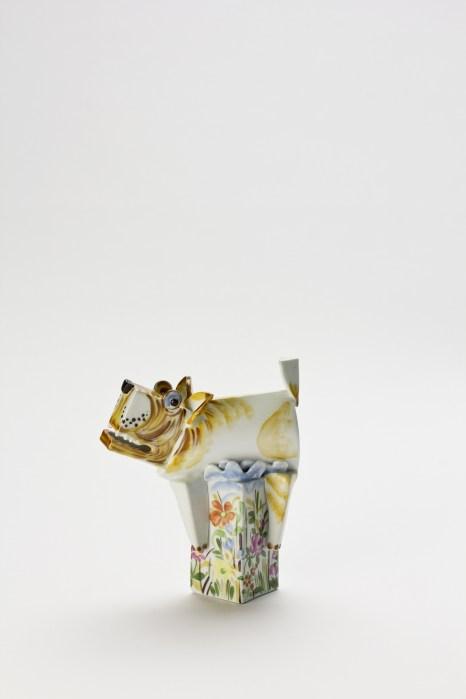 Peter Strang,Mein Garten, Porzellan handbemalt, foto: Angela Francisca Endress, Sesslach