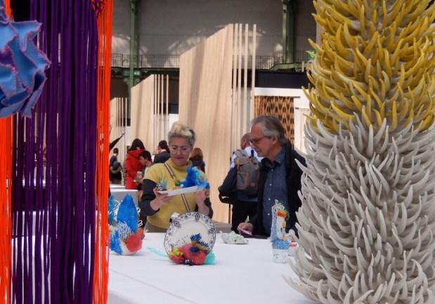 Isabelle Azaiis, Banquet-Präsentation Belgien - Révelations Grand Palais, Paris 2017 | Foto: Schnuppe von Gwinner