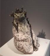Cecile Aurejac, Steinzeugfigur - - Galerie Collection, Paris | Foto: Schnuppe von Gwinner