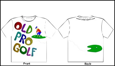 Concept Art for Old Pro Golf Tee