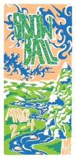 Snowball Music Festival Event Poster