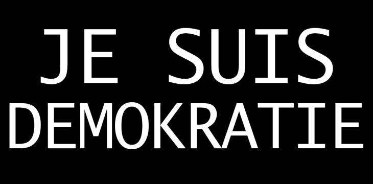 Je suis Demokratie – Ist die Demokratie noch zu retten?