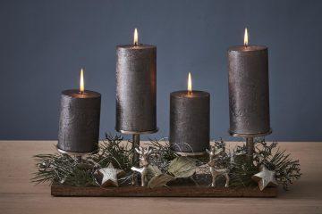"""Viele schöne Adventskranz Ideen - auf deinem """"Schön bei Dir"""" Blog"""