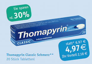 Thomapyrin 20 Tabletten