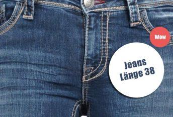 Jeans für Frauen Länge 34 36 38