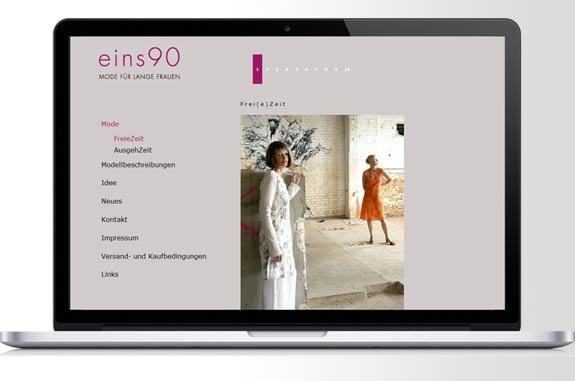 eins90 Mode für lange Frauen