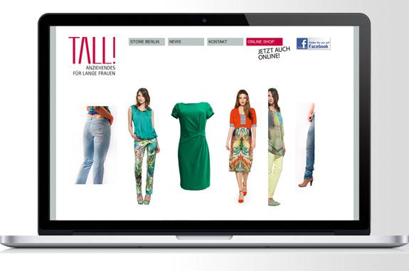 Tall Shop Anziehendes für lange Frauen