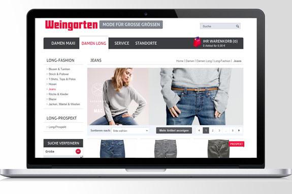 Weingarten Online Shop