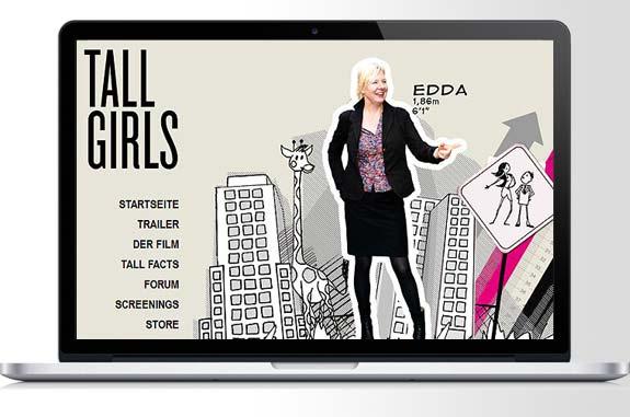 Film Tall Girls verpaßt? Es gibt eine DVD zum Film.