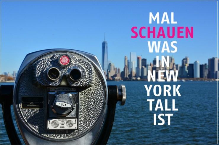 Mal schauen was in New York TALL ist. Nur die Hochhäuser? Gibt es auch Mode für große Frauen?