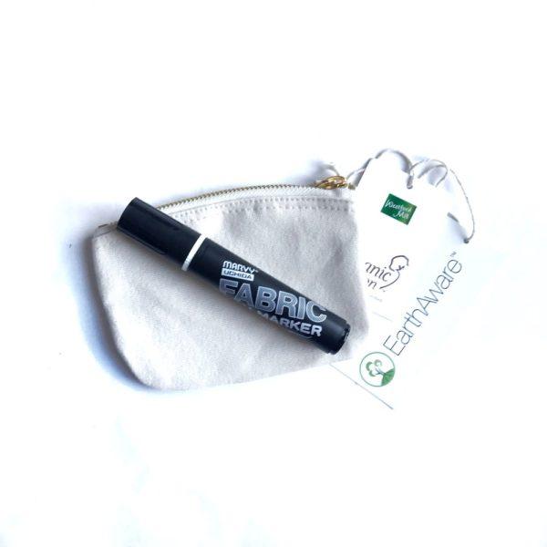 Set: Tasche mit Fabric Brush Marker