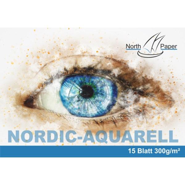 North Paper Aquarell