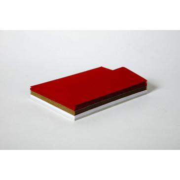Red Karten Set Pollen