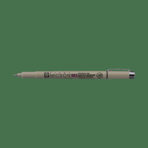 Pigma Micron Fineliner 003