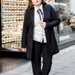 Plus Size Fashion Look Black White Business Look Schonwild