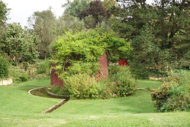 Persischer Garten im Privatgarten der von Süsskind