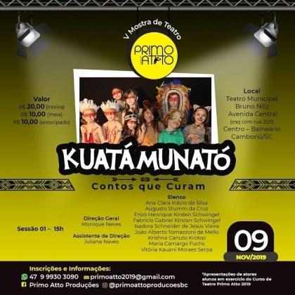 Cinco espetáculos estarão em cartaz no Teatro Municipal de Balneário Camboriú neste sábado, SC Hoje News - Notícias de Balneário Camboriú