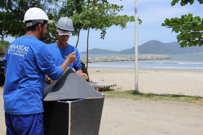 Iniciada segunda etapa do Molhe do Pontal Norte em Balneário Camboriú, SC Hoje News - Notícias de Balneário Camboriú