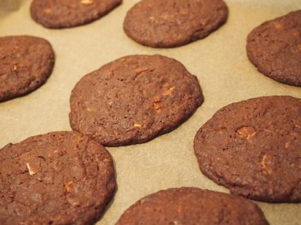 ... werden im Nu große Cookies