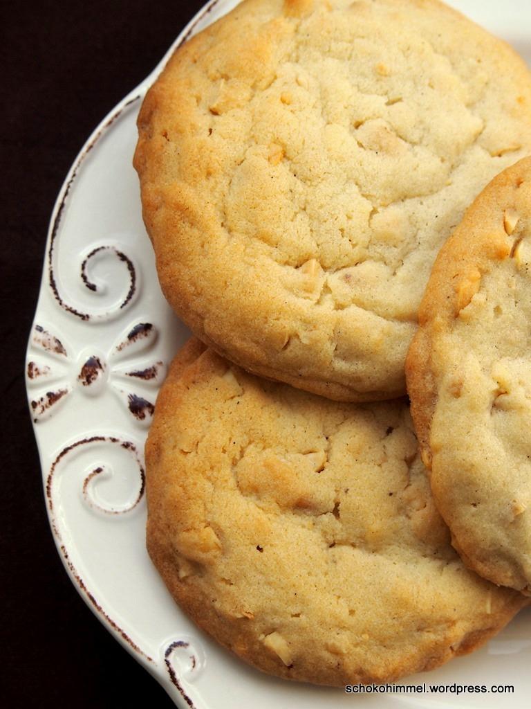 Wer Erdnüsse mag, wird diese Cookies lieben!