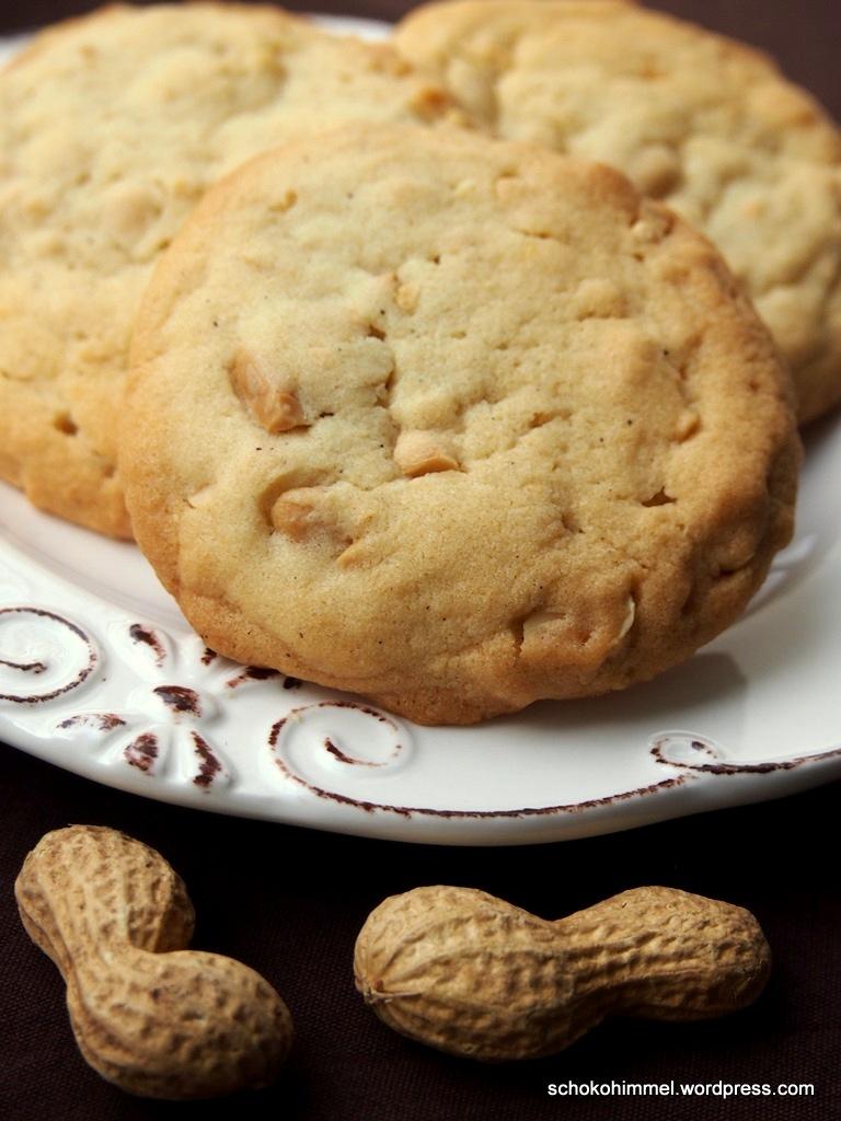 Kräftig erdnussig und leicht salzig: Peanut Cookies
