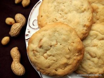 Buttrig-mürbe Double-Peanut-Cookies