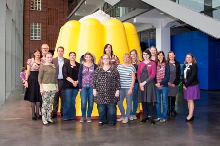 Gruppenfoto am Puddingwunder
