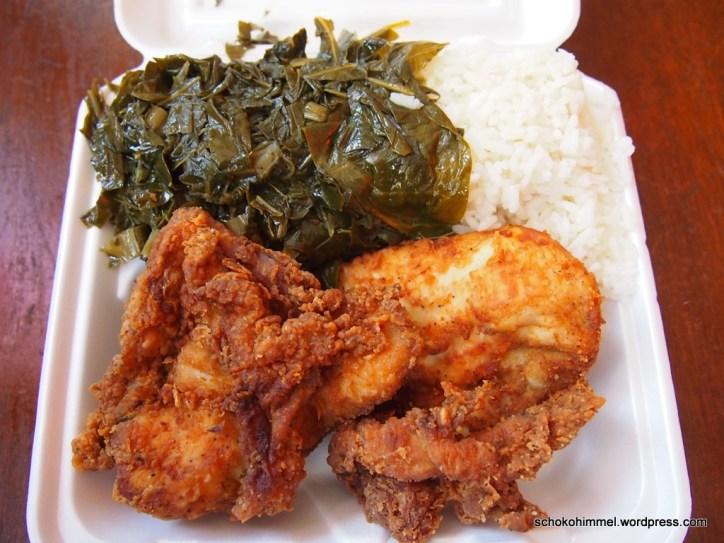 "Echtes ""Harlem Soulfood"": Pan Fried Chicken"