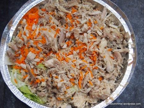 Chicken over rice von den Halal Guys - frisch und köstlich