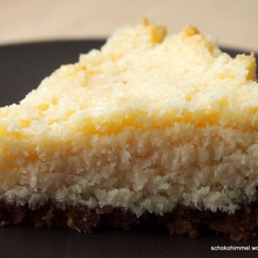 Ich back' mir… eine saftige Kokos-Tarte mit Keksboden