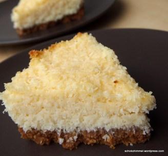 Ein Stück Kokos-Tarte... oder zwei...