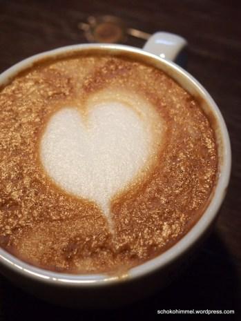 Kaffee mit Herz - Latte Art