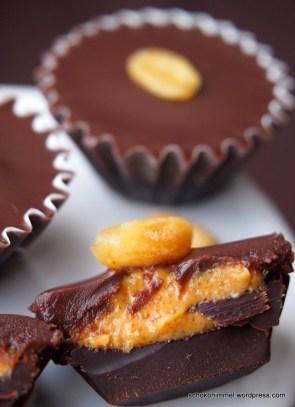 Schokoladige Erdnussbutter-Trüffel