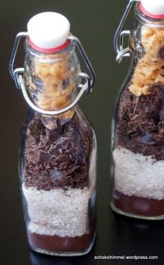 Geschichtetes Milchreis-Glück im Glas