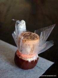 Schoko-Töpfchen lassen sich mit einem Sektkorken selber herstellen