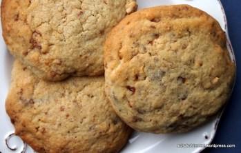 Nougat-Cookies auf dem Plätzchenteller