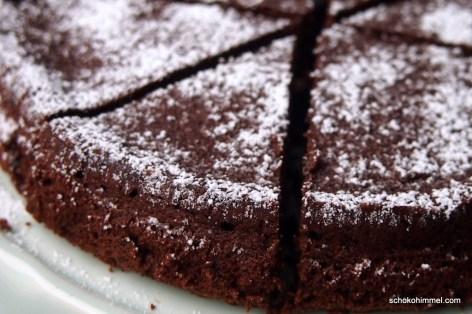 Schokoladenkuchen aus Bella Italia