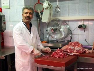 geniale Fleischauswahl beim türkischen Feinkostladen