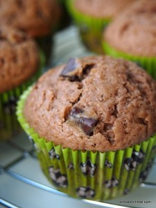extraschokoladige Muffins