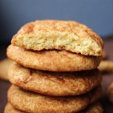 Perfekt für Weihnachten: Snickerdoodle Cookies (Kekse mit Zimt & Zucker)