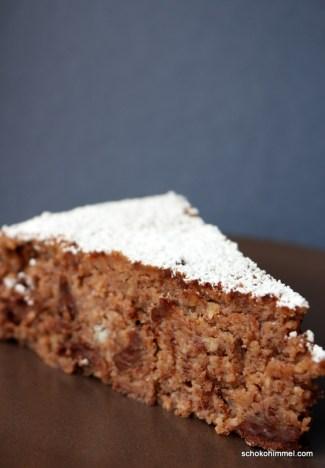 nussig, schokoladig: Maronen-Kuchen ohne Mehl